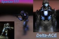 Delta Ace spartan 777