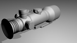 D-750 4X GEN 3 NIGHT VISION WEAPON SCOPE