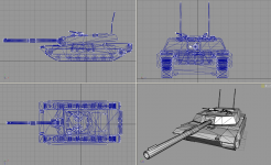 M1A1/2 tank for an upcoming MoW:AS mod