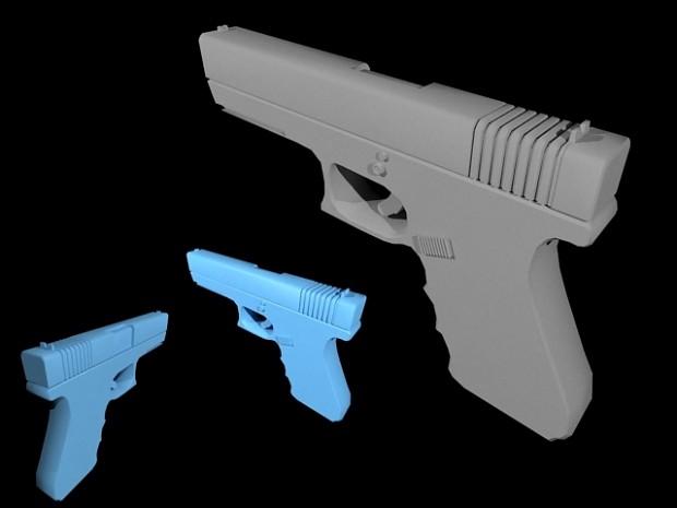 Glock 17 Render - Quantumshift