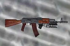 Ak74 w/ correct wood color