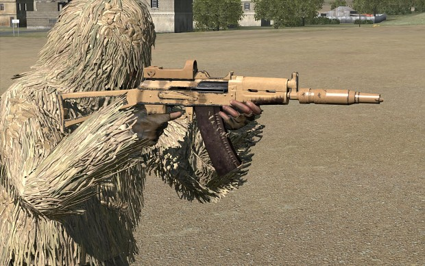 Ak-74u w/ Addons retexture