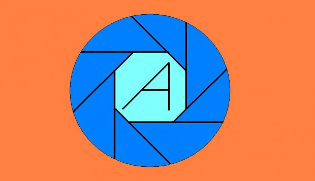 my self made aperture science logo