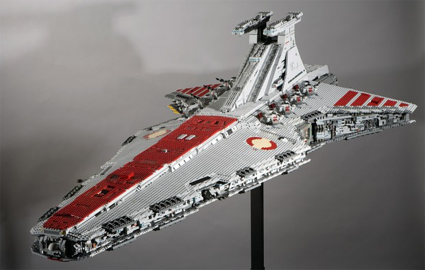Custom Venator Lego Build