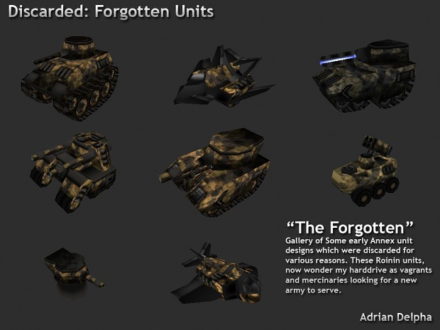 The Forgotten Units