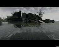 Many skulls under water...