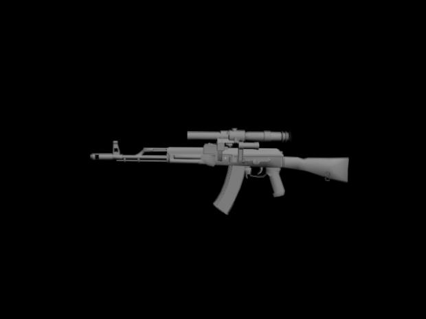 AK-74 w/ PSO-1
