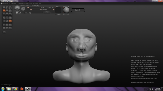 Sculptris - Work In Progress #2