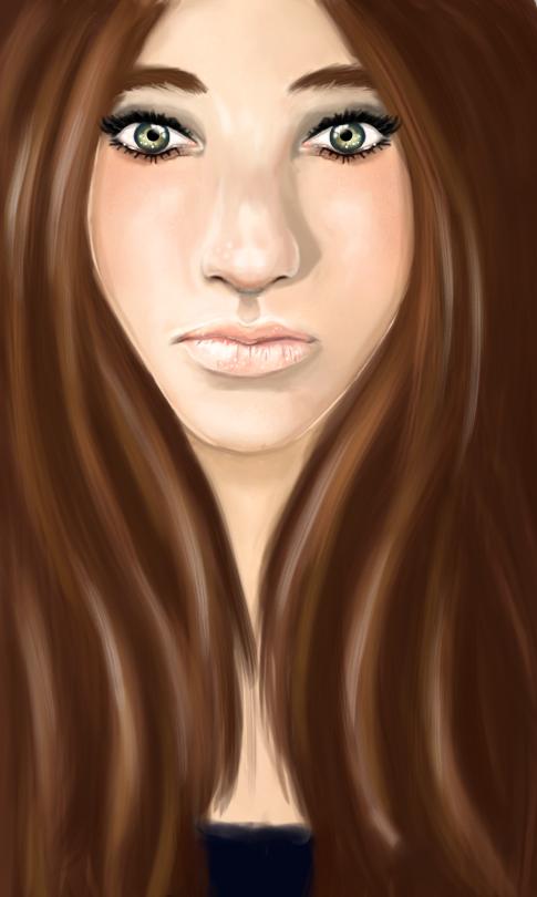 Female face concept