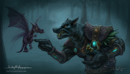 Worgen pet battles