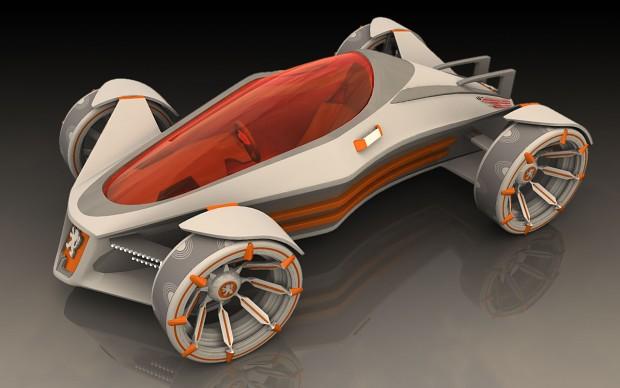 Cool 3D vehicle