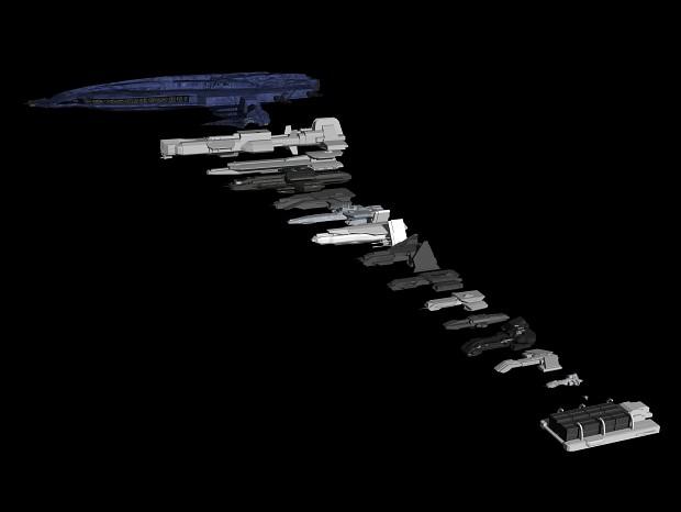 Tauri ship scaling