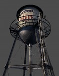 Water tower close-up