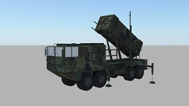 Anty missile vehicle