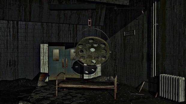 Abandoned hospital wing