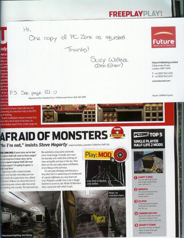 Afraid of Monsters on PC Zone