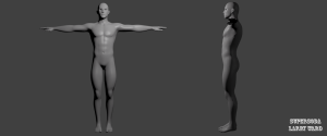 "Basic body model for ""Call of kings"""