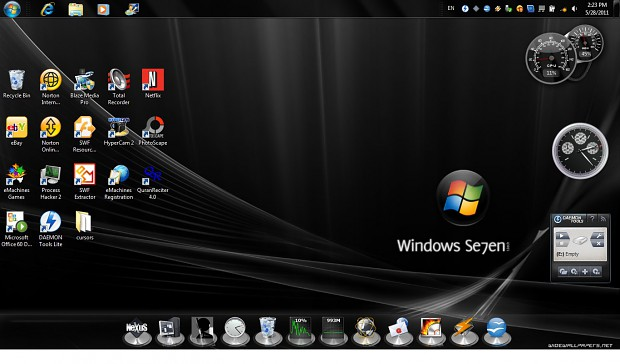 1st Desktop with a New Look