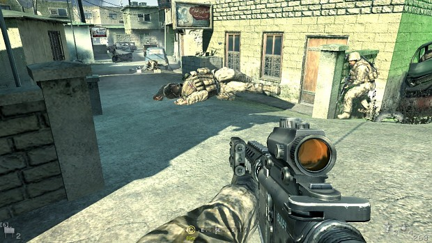 CoD4: MW  Floating Dead Marine