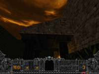3D slopes glitching (GZDoom)