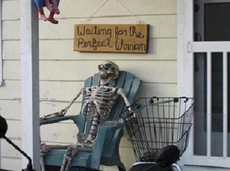 Just waiting around...