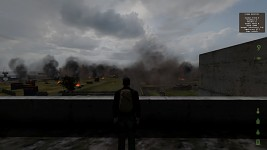 Chernogorsk in Flames