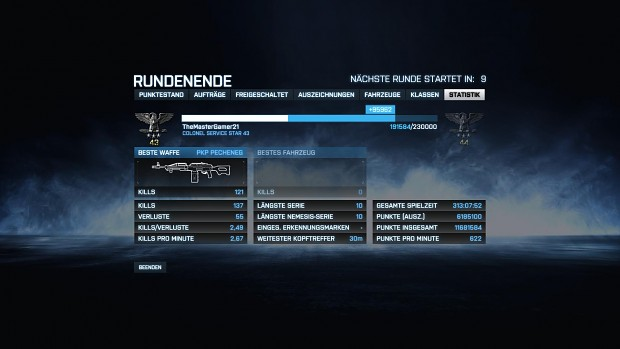A nice Battlefield 3 Round