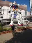 1:1 Gundam statue in odaiba