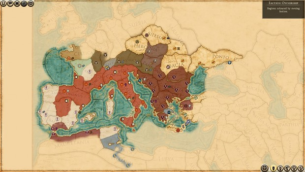 Day 2 of My Rome Campaign (Hard with 4TPY)