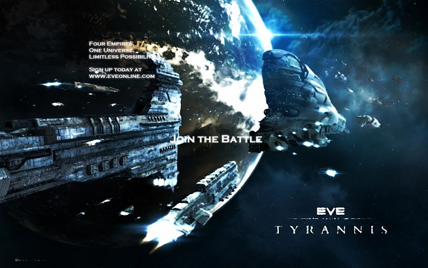 EVE Online Tyranis Poster (fan-made)