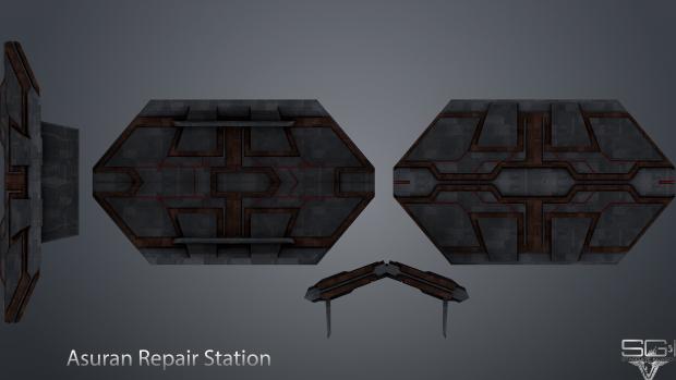 Asuran Repair Station Model/Texture
