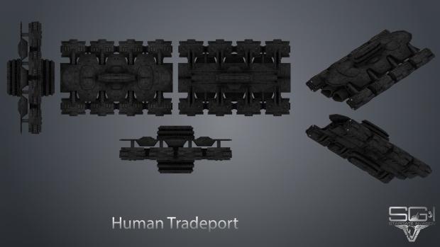 Human Tradeport Texture