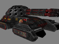 MechWarrior - Clan Blood Spirit - Morrigu tank