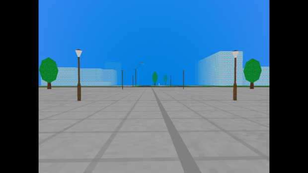 Razor Sharp: Main square