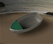 Jolly Boat Lowpoly prop