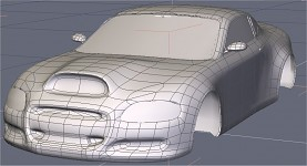 Work In Progress Racing Car