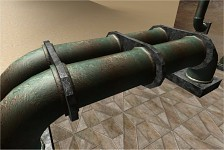 Oil Pipeline 3D Prop