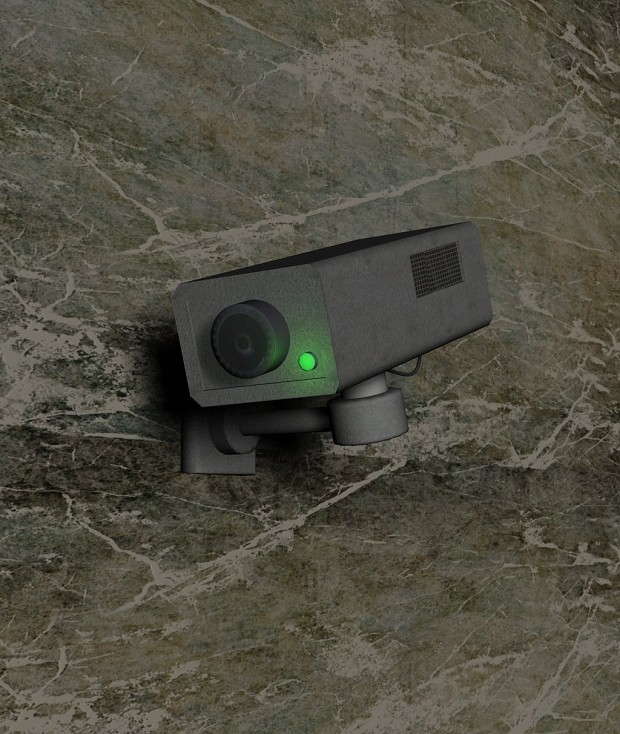 Security camera prop