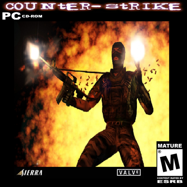 Counter-Strike Custom CD Cover