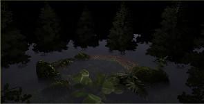 Protype trees lighting test1