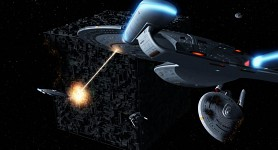 Enterprise vs The Borg