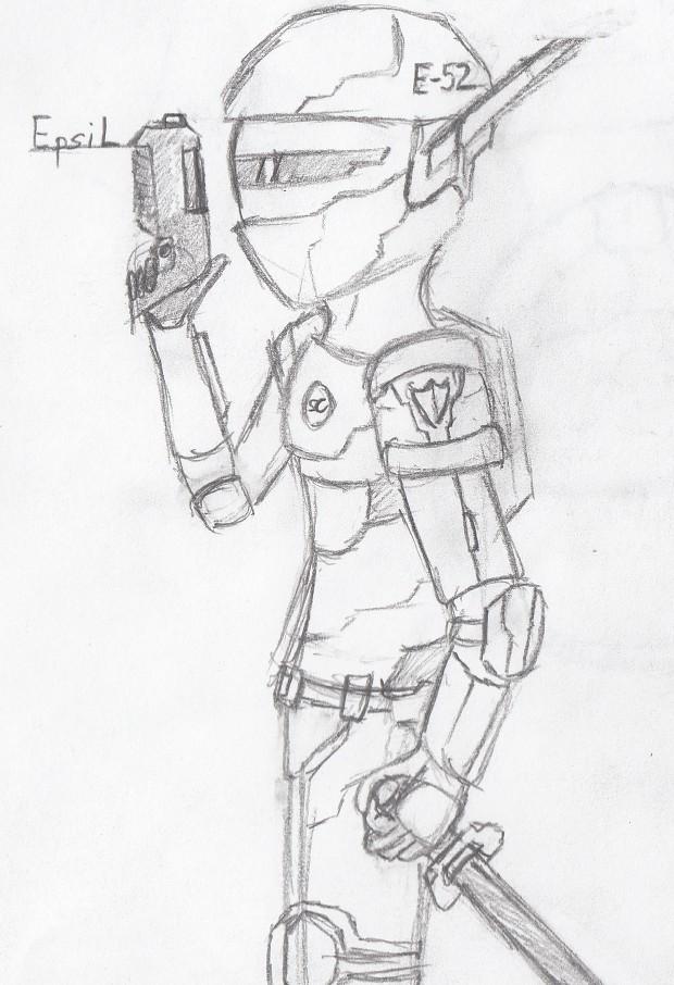 Phantasy Star Online Inspired Character, Epsil