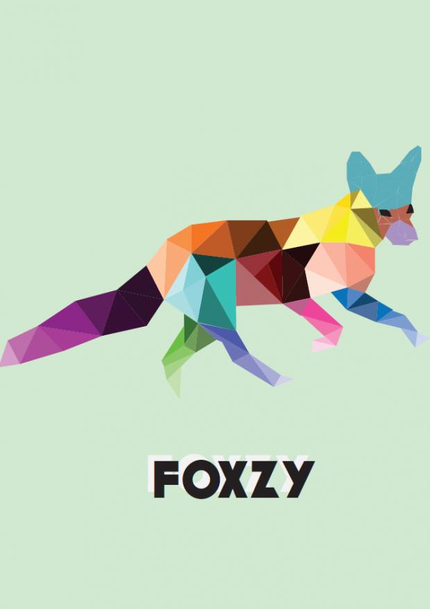 I did a vector of a fox mum!