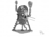 Goblin steampunk slum concept