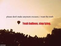 Sigh, balloon :))