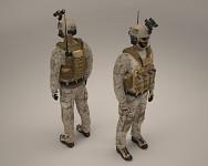 New body model render