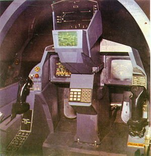 Cockpit of YuSupersonic