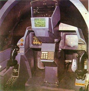 Cockpit of YuSupersonic