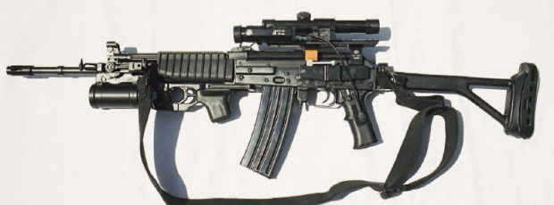 Serbian M21 Automatic Rifle