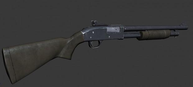 mod. ak47 draco, mossberg 590, m9 bayonet